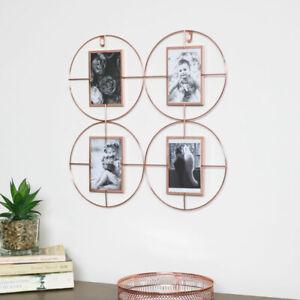 Copper Multi Photo Frame rose gold home decor wall art
