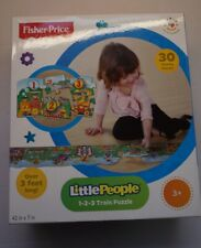 Fisher-Price Little People 1-2-3 Train Puzzle 30 Pieces Kids Puzzle 3 CR-D3/22