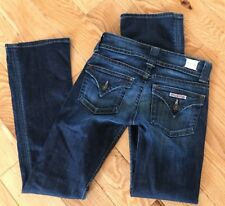"HUDSON Women's Jeans Dark Wash Signature Size 25 Boot Cut Jeans 31"" Inseam"