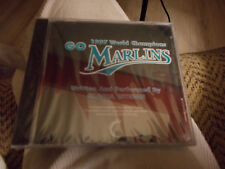 GLORIA ESTEFAN - 1997 WORLD CHAMPIONS-GO MARLINS CD SINGLE BRAND NEW SEALED