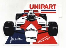 Adesivo Formula 1 MCLAREN Niki Lauda John Watson 1982 UNIPART sponsor F1 sticker