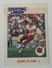 1988 Kenner SLU Football Gary Clark Washington Redskins Sports Card Only