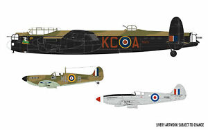Airfix A50182 Battle of Britain Memorial Flight Plastic Kit Set