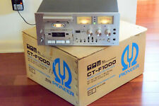 Excellent Pioneer Ct-F1000 Cassette Deck W/ Original Box! Restored & Calibrated