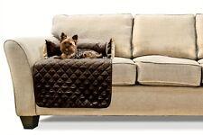 FurHaven Sofa Buddy Pet Bed Furniture Cover ‑ Small ‑ Espresso/Clay
