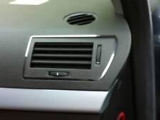 D Opel Astra H cromo marco para conducto de ventilacion exterior de acero inoxidable pulido
