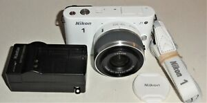 Nikon 1 J1 10.1MP Digital Camera - White (Kit w/ VR 10-30mm Lens) (27528)