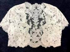 💕 CASABLANCA COUTURE 💕 $425 12 BOLERO JACKET IVORY ALENCON FRENCH LACE BEADED