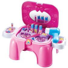 SCHMINK TISCH KINDER Spielzeug Beauty Koffer Kiste Box Mädchen Puppe # 91609