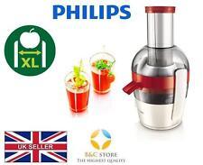 ~ Nuovo Philips Viva JUICER HR1855 / 90 Estrattore frutta fresca XL tubo di alimentazione facile ~