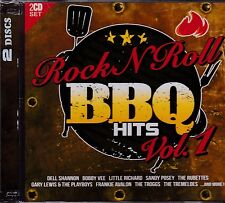 ROCK N ROLL BBQ HITS  VOLUME 1 - VARIOUS ARTISTS on 2 CD's - NEW