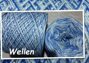 """1000 g Wolle  Strickgarn""""Wellen"""" weiche Wolle mit Baumwolle 3,00€/100g"""