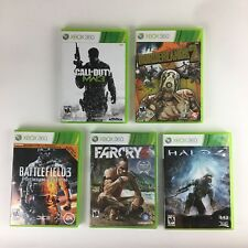 Lot Of 5 Xbox 360 Games- First Person Shooters