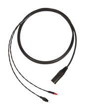 Corpse Cable for SENNHEISER HD 650, HD 600, HD 6XX HD 660 S / 4-Pin XLR / 6ft