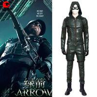 DFYM Original Green Arrow Season 5 Oliver Queen Cosplay Costume Customize