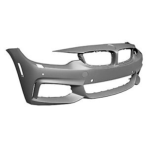 2014-2016 BMW 428I Convertible Reconditioned Front Bumper Cover BM1000342R