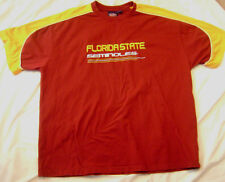 FSU Florida Seminoles T Shirt with Embroidered Logo, Men XXXL, 3X