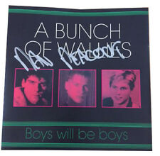 Only Fools and Horses Boys will be Boys 7 Inch Single – Signed by Mental Mickey