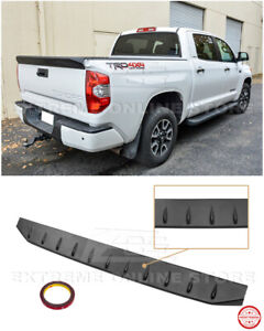 For 14-18 Toyota Tundra Street Series ABS Plastic Tailgate Rear Wing Spoiler