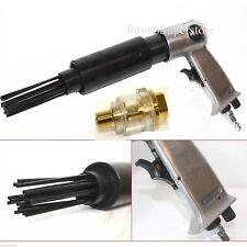 Air Needle Scaler Pistol Grip Remove Slag Rust Deburring 19 Needles w/Mini Oiler