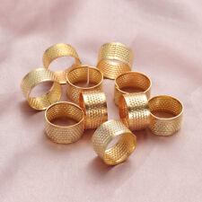 accessoires de couture handworking doigt protecteur bague le métal aiguille dé