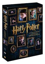 HARRY POTTER - COLLEZIONE COMPLETA 8 DVD - COFANETTO NUOVO, ITALIANO, ORIGINALE