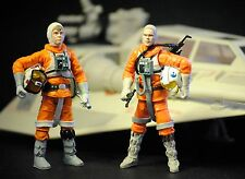 Star Wars Vintage Retro Vehicle ESB Hoth Snowspeeder Luke Skywalker Dack Target