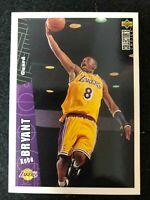 1996-1997 Upper Deck CC # LA2 KOBE BRYANT ROOKIE RC Los Angeles Lakers Sharp !