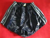 ADIDAS SHORTS Glanz Sprinter Nylon Shiny Racer Retro Vintage Sporthose gay M