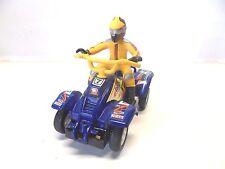 OO 6 ) QUAD BLEU pilote jaune   ARTIN JOUEF ?? pour  circuit routier 1/43