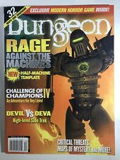 Dungeon Magazine #91 TSR AD&D TSR Dungeons & Dragons D&D With Inserts Intact