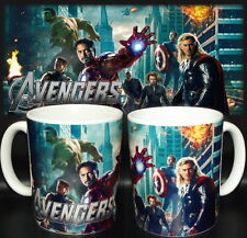tazza mug THE AVENGERS thor,hulk,captan america,iron man, film scodella ceramica