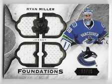 15/16 THE CUP FOUNDATIONS QUAD GAME JERSEY #CFRM Ryan Miller #12/75