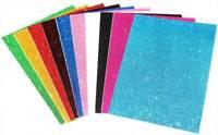 EVA Foam sheets reg & glitter eva 12x18 10 pc kids craft arts goma