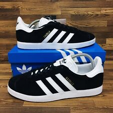 Adidas Originals Gazelle Men Sizes Athletic Shoes Black Casual Suede Sneakers
