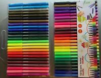 100 Fasermaler Filzstifte ## große Farbvielfalt ## bunt farbig Stifte Stift 2mm