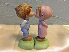 1979 Hallmark Betsey Clark Betsey & Beau First Kiss