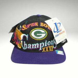 🏈 NWT VINTAGE LOGO ATHLETIC SUPER BOWL CHAMPIONS XXXI GREEN BAY PACKERS HAT