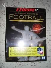 "Coffret de 5 DVD ""la grande histoire du foot ball"" neuf"