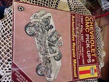 REPAIR MANUAL HAYNES 1967-1987 CHEV GMC P/UPS 2WH 4WH DRIVE 67--91 BLAZER JIMMY