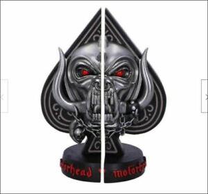 Nemesis Now Licensed Motorhead Ace of Spades Warpig Snaggletooth Book Ends