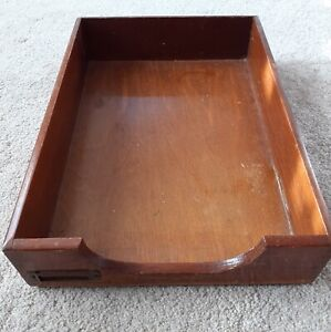 Vintage Paper Tray Document holder