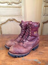 VTG Mens Chippewa Scout Engineering Logging Hiking Boots Size 11.5 W