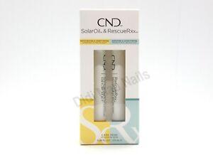 CND Essentials Care Pens DUO RESCUERXX & SOLAR OIL Treatment
