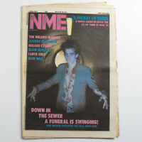 NME magazine 12 May 1984 Nick Cave cover Blow Monkeys Lloyd Cole Blue Nile