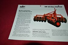 Massey Ferguson 25 Disc Harrow Dealer's Brochure DCPA