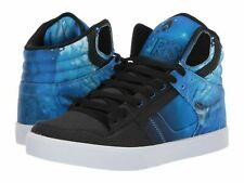 OSIRIS Clone Skate Shoes Mens Size 9.5 M Huit Drank Black Cyan Blue NEW
