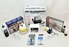 Paasche VL Series Airbrush / Single Action Airbrush /  Mini Compressor ++ Bundle