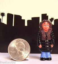 1- RARE Lil Homies Series #5 Squeeky Squeaky Muchacha Girl Chola Figure Figurine