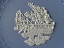 Wedgwood Jasper Ware Independencia Americana Placa Batalla De Concord »